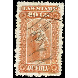 canada revenue stamp ql20 law stamps 60 1871