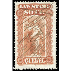 canada revenue stamp ql22 law stamps 80 1871