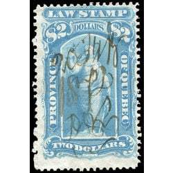 canada revenue stamp ql25 law stamps 2 1871