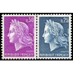 france stamp 1197 8 marianne 1967
