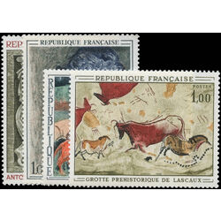 france stamp 1204 7 paintings 1968