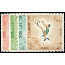 laos stamp 178 81 19th olympic games mexico city 1968 1968
