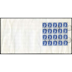 canada 338a and 341b on covers