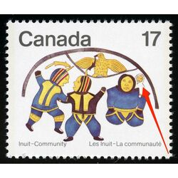 canada stamp 837i the dance 17 1979