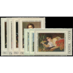 russia stamp 4074 80 russian paintings 1973