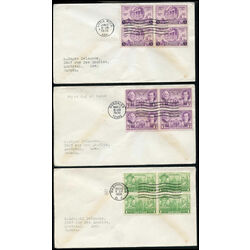 6 united states first day covers 1936