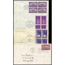 7 united states first day covers 1938 1939