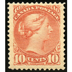 canada stamp 45 queen victoria 10 1897 m vf 010