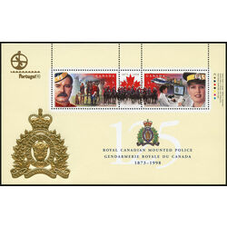 canada stamp 1737d rcmp 125th anniversary 1998
