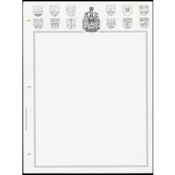 blank pages for the dominion canada stamp album