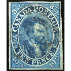 canada stamp 7 jacques cartier 10d 1855 u f 017