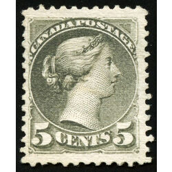canada stamp 38 queen victoria 5 1876 m vf ng 009
