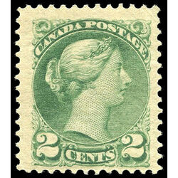 canada stamp 36 queen victoria 2 1872 m vfnh 010