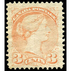 canada stamp 37 queen victoria 3 1873 m vf 008