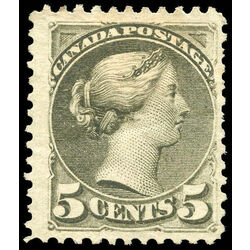 canada stamp 38a queen victoria 5 1870 m f ng 004