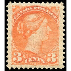 canada stamp 41 queen victoria 3 1888 m xfnh 012