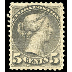 canada stamp 42 queen victoria 5 1888 m vf 014