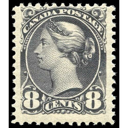 canada stamp 44 queen victoria 8 1888 m fnh 006