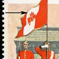 canada stamp 692ii colour parade and memorial arch 8 1976