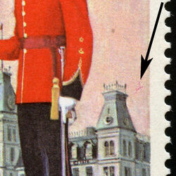 canada stamp 693vi wing parade and mackenzie building 8 1976