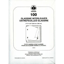 glassine interleaves for stamp albums