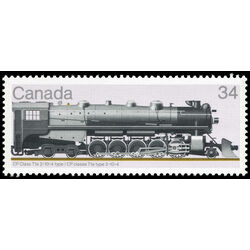 canada stamp 1119 cp class t1a 2 10 4 type 34 1986