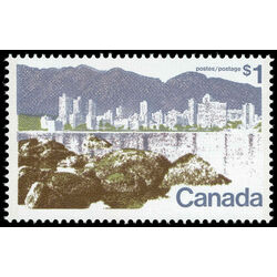 canada stamp 599a vancouver 1 1977