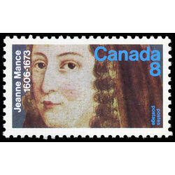 canada stamp 615 jeanne mance 8 1973