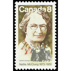 canada stamp 622 nellie mcclung 8 1973