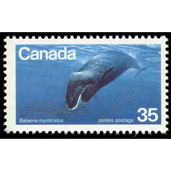 canada stamp 814 bowhead whale 35 1979