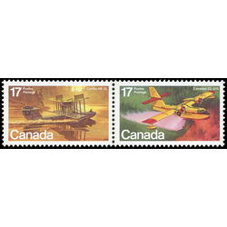 canada stamp 844a aircraft flying boats 1979