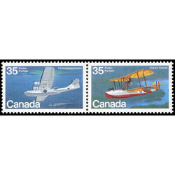 canada stamp 846a aircraft flying boats 1979