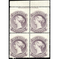 nova scotia stamp 9 queen victoria 2 1860 pb f 002