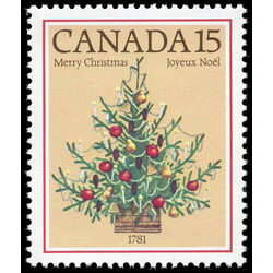 canada stamp 900 christmas tree 1781 15 1981
