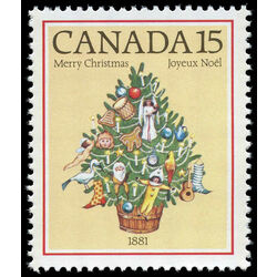 canada stamp 901 christmas tree 1881 15 1981