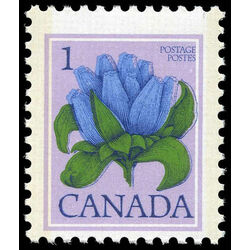 canada stamp 705 bottle gentian 1 1977