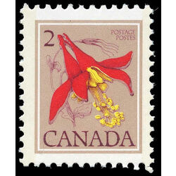canada stamp 782 western columbine 2 1979