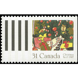 canada stamp 1151 gifts under tree 31 1987