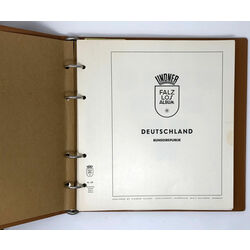 west germany west berlin collection on lindner pages 1960 to 1968