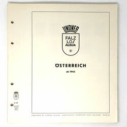 austria collection on lindner pages 1960 to 1967