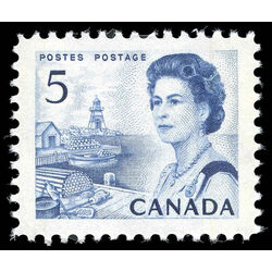 canada stamp 458p iii queen elizabeth ii fishing village 5 1967
