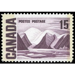 canada stamp 463p iv bylot island by lawren harris 15 1972