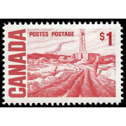 canada stamp 465bii edmonton oil field by h g glyde 1 1971