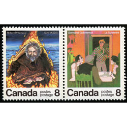 canada stamp 696a canadian authors 1976
