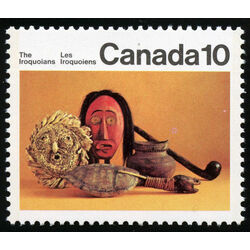 canada stamp 578 cornhusk mask and artifacts 10 1976