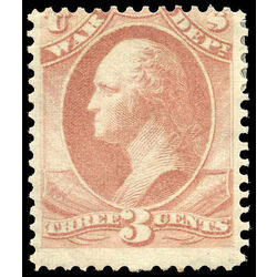 us stamp o officials o85 war 3 1873 m vg 001