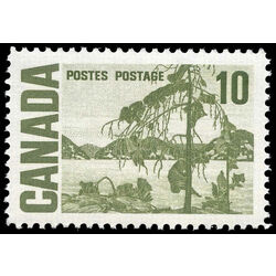 canada stamp 462v jack pine by tom thompson 10 1973