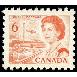 canada stamp 459biv queen elizabeth ii transportation 6 1969