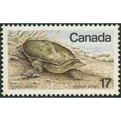 canada stamp 813iv spiny soft shelled turtle 17 1979