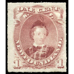 newfoundland stamp 37 edward prince of wales 1 1877 m vf 006
